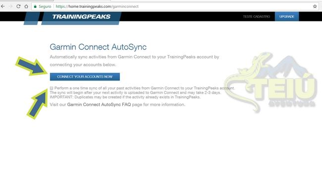 3.2 - Garmin Connect AutoSync
