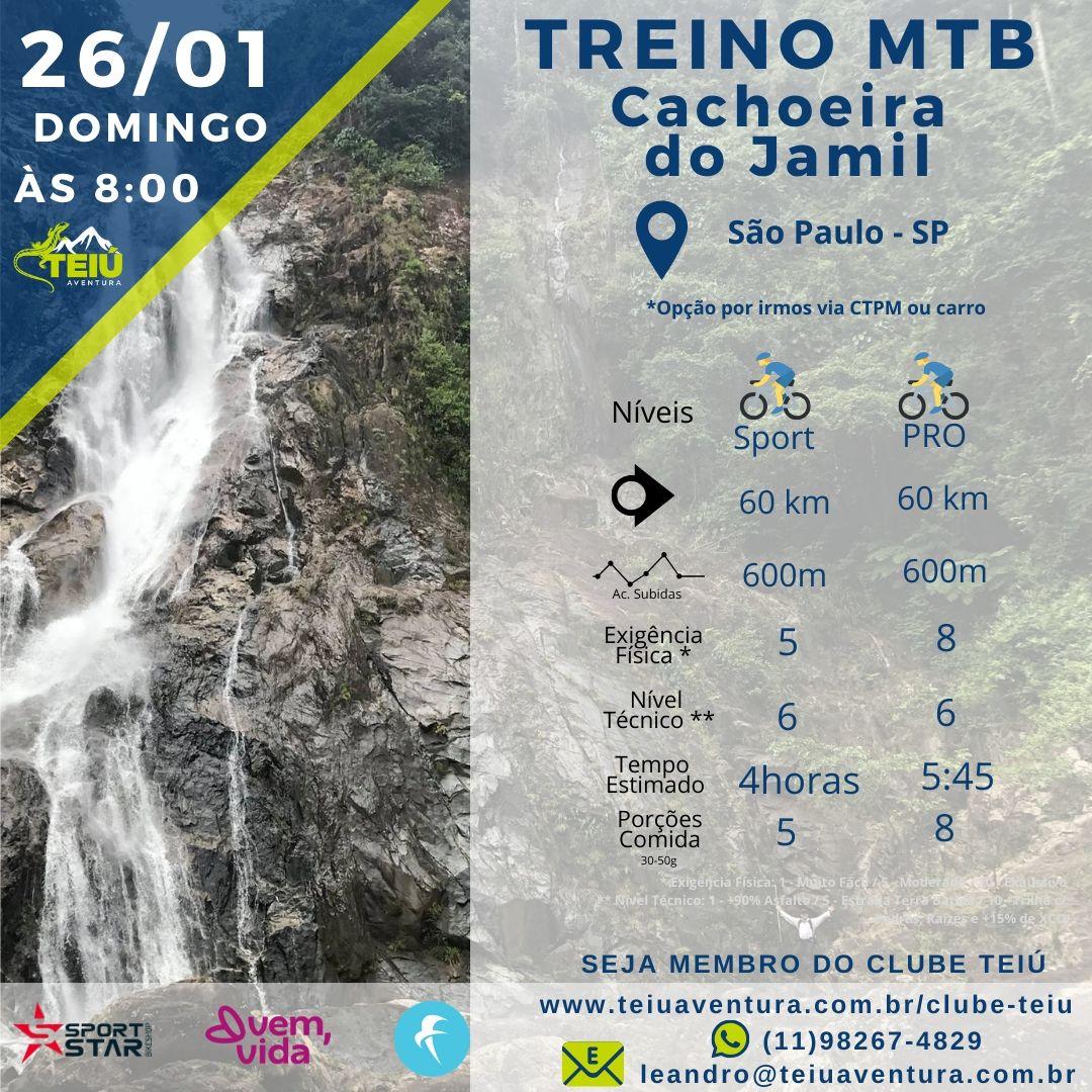 Cachoeira do Jamil - Treino MTB Teiú @ São Paulo - SP