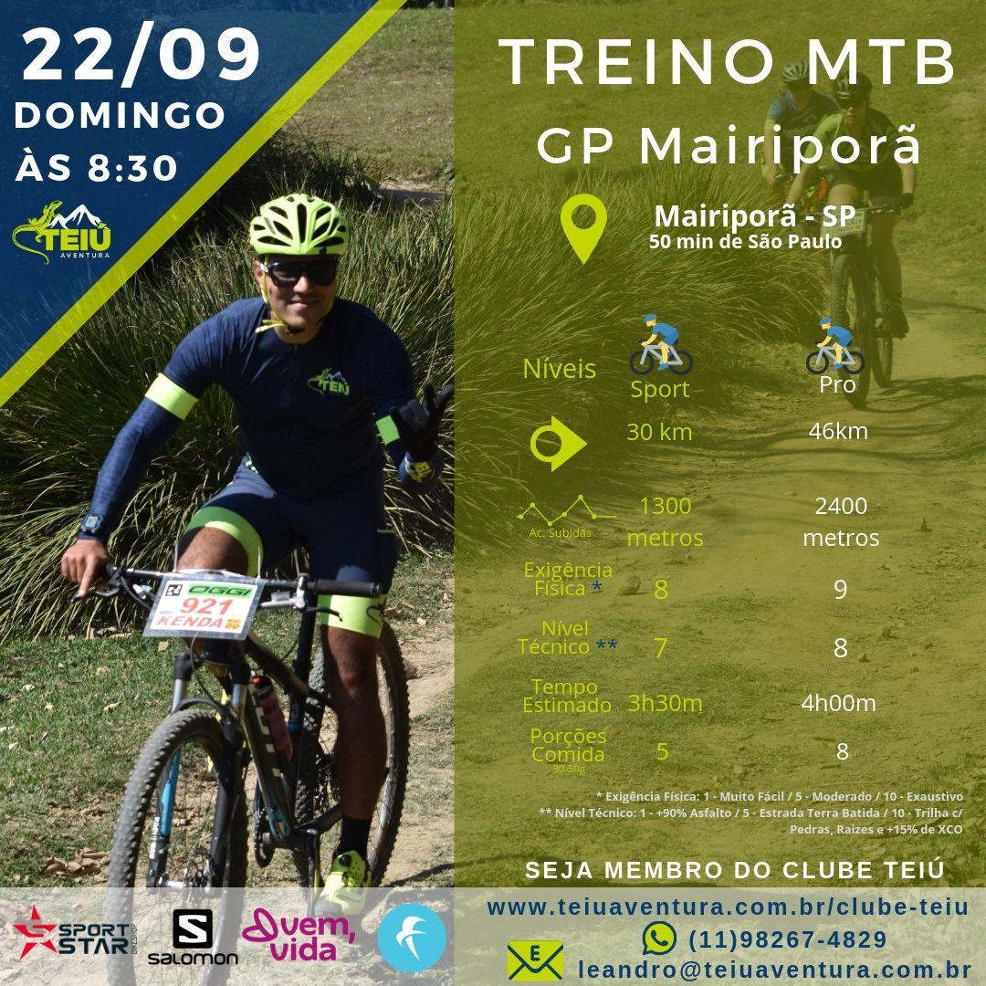 Treino MTB - GP Mairiporã @ Mairiporã - SP
