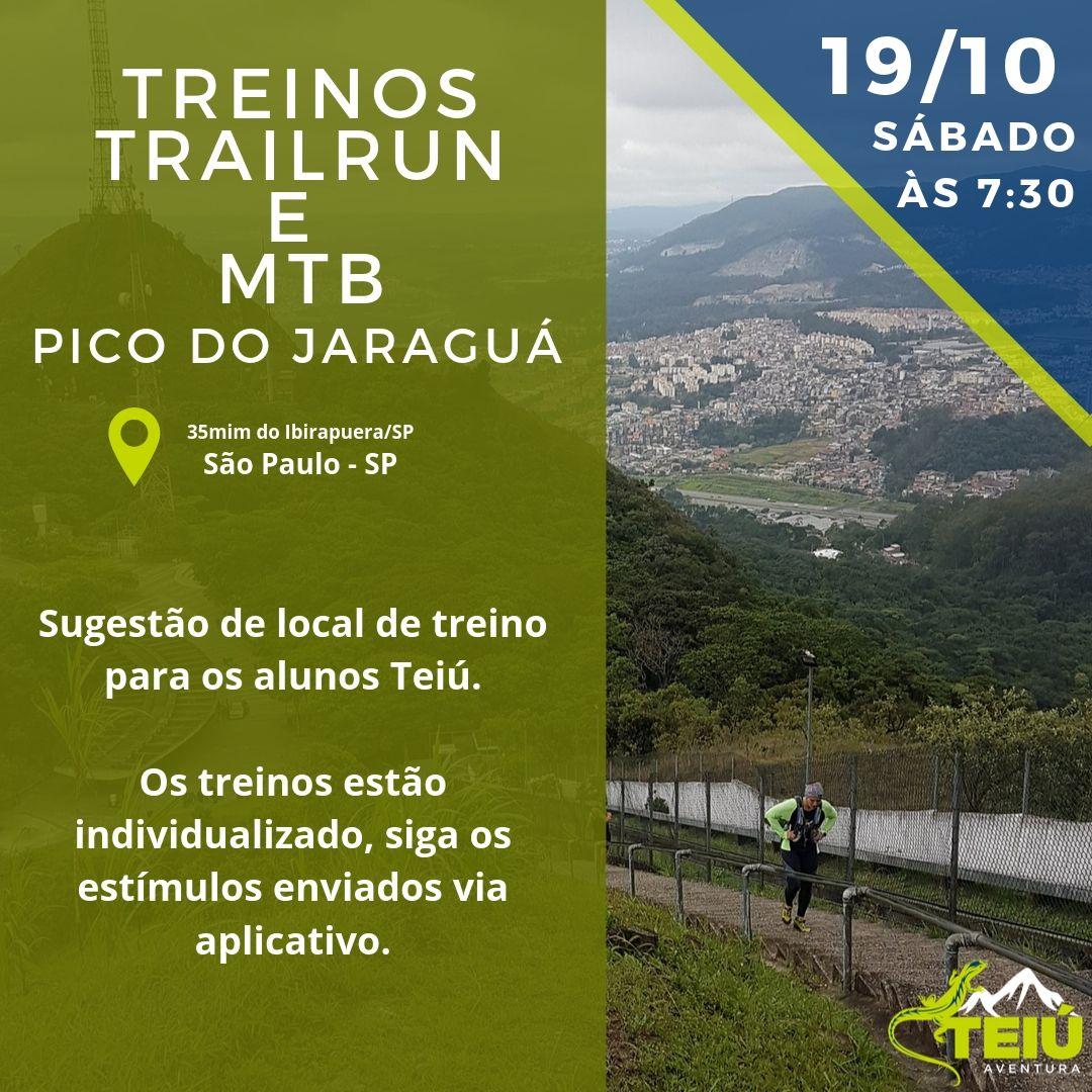 Pico-do-Jaraguá Treino Trail Run e Ciclismo (MTB) - Pico do Jaraguá