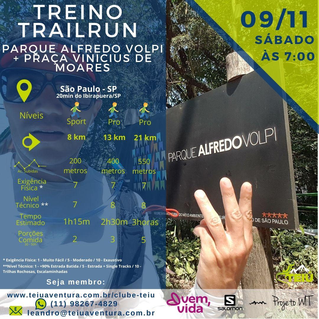 Treino-Trail-Parque-Alfredo-Volpi Treino Trail Run - Parque Alfredo Volpi + Praça Vinicius de Moraes