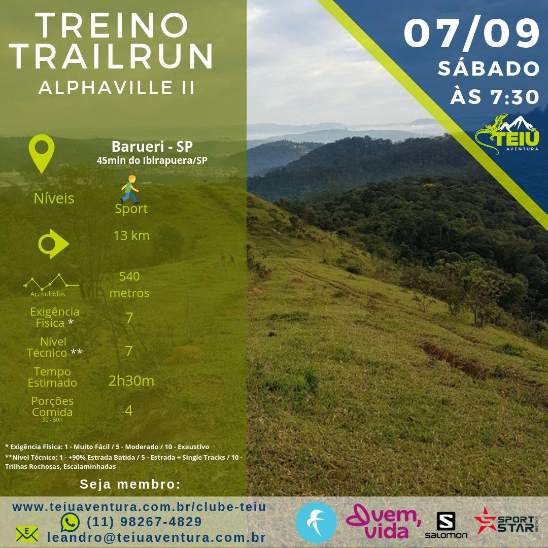 Treino-Trail-Teiu-Alphaville-07-09 Treino Trail Run - Alphaville II