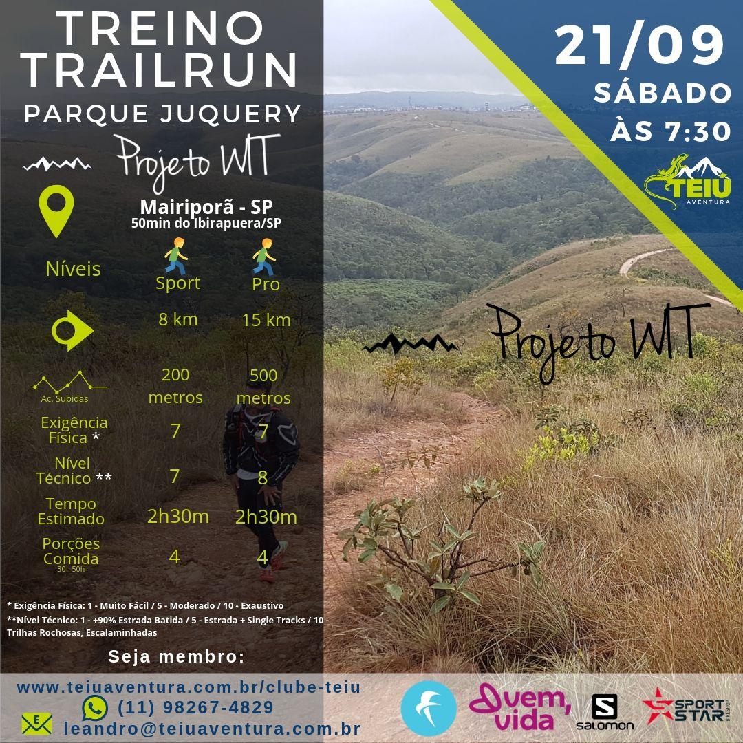 Treino Trail Run - Parque Juquery @ Mairiporã - SP