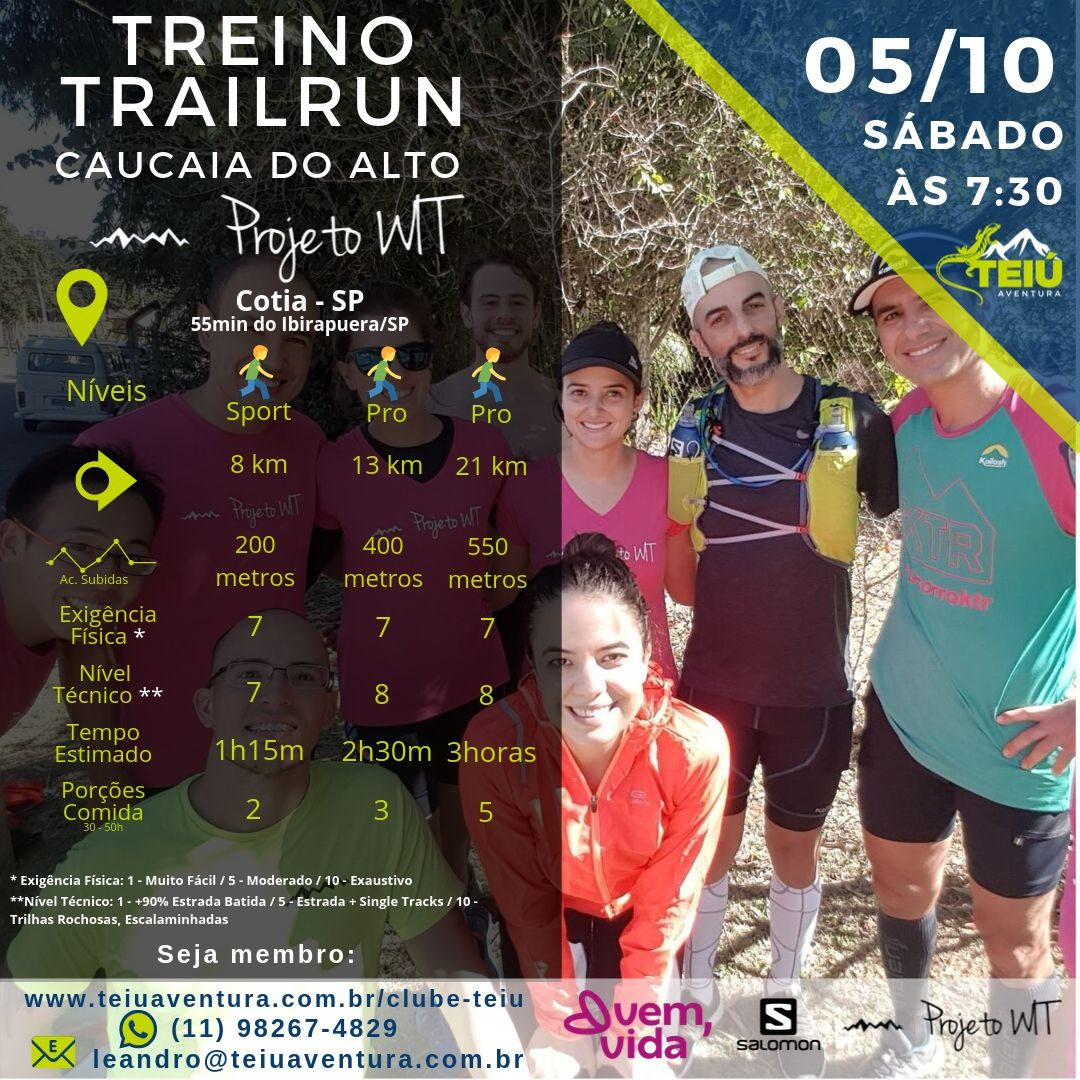 Treino-Trail-Teiu_Wit-Caucaia-do-Alto Treino Trail Run - Caucaia do Alto
