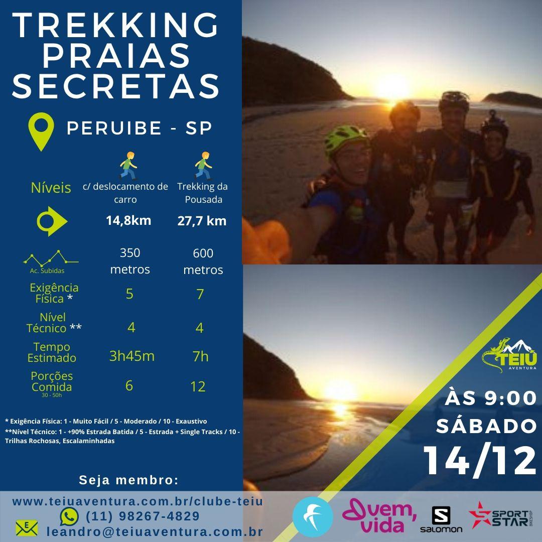 Trekking Praias Secretas - Peruíbe @ Peruibe - SP
