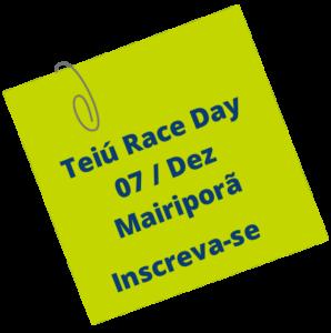 Teiu Race Day - Festival de Corrida de Aventura @ A definir