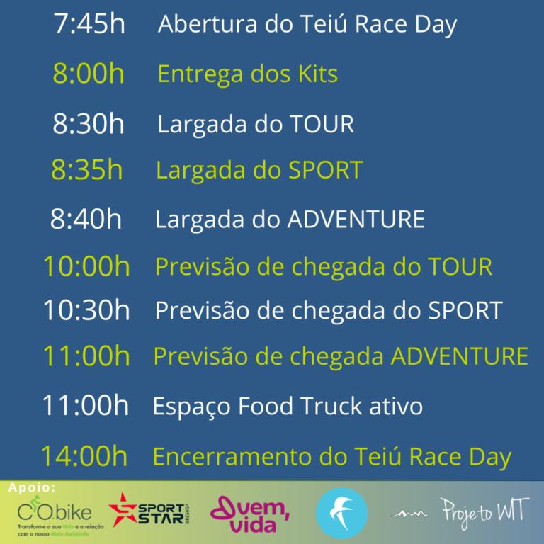 Cronograma-Teiú-Race-Day-768x768 TEIÚ RACE DAY